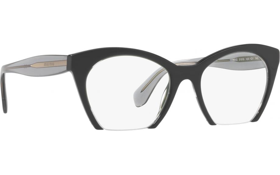 cf42c3d01cd Miu Miu MU 03QV H5X1O1 51 Glasses - Free Shipping