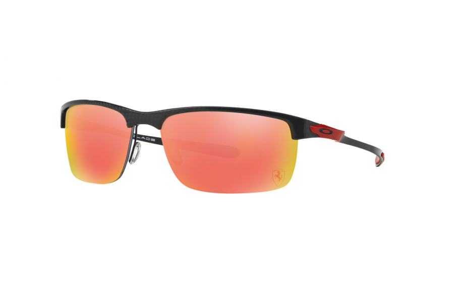 ca39b0a5df Oakley Ferrari Collection Special Edition Carbon Blade Polished Carbon  OO9174-06 ALT - Free Shipping