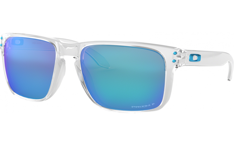 bed0f5da229c Oakley Holbrook XL Sunglasses. zoom. 360° view. Frame: Polished Clear Lens: Prizm  Sapphire Polarised