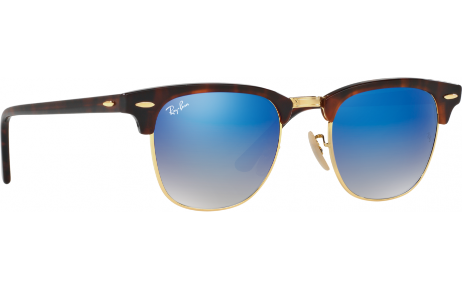 a08240487c Ray-Ban Clubmaster RB3016 990 7Q 49 Sunglasses - Free Shipping ...
