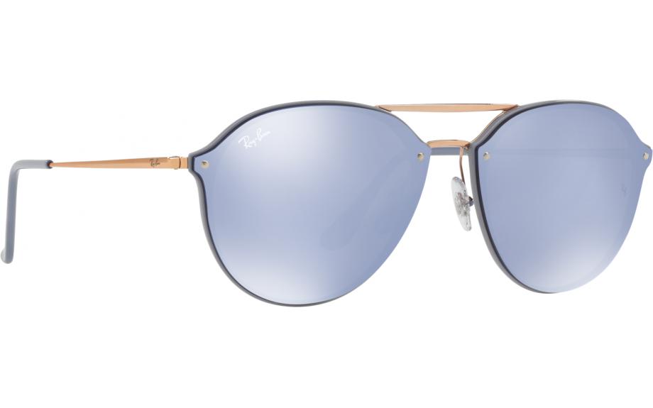 5516643a3c2 Ray-Ban Blaze Double Bridge RB4292N 63261U 62 Sunglasses - Free Shipping