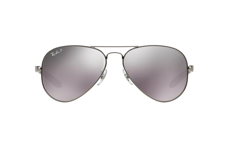 0d0c709240bb34 Ray-Ban Aviator Carbon Fibre RB8307 004 N8 58 Sunglasses - Free ...