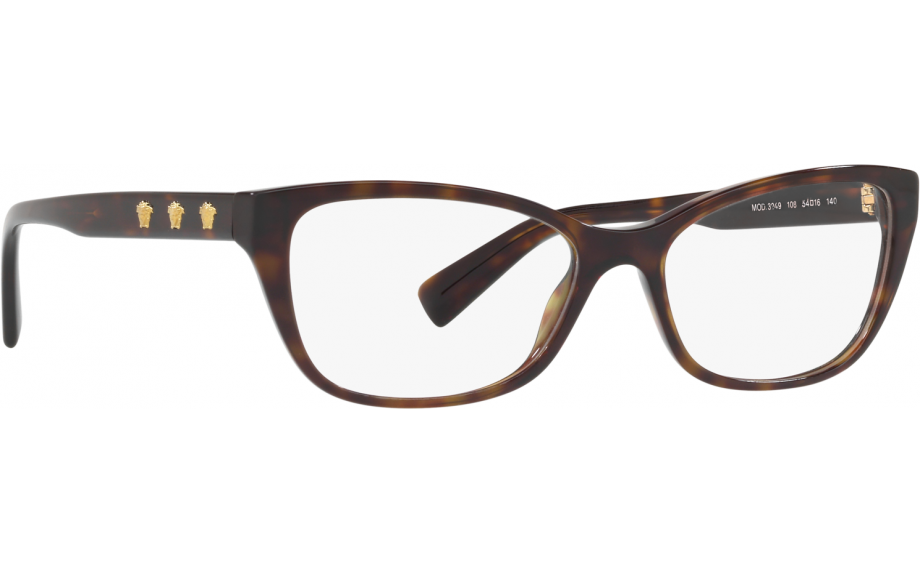 33d38a13c88 Versace VE3249 108 54 Glasses - Free Shipping