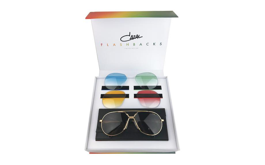 275a6ebabe8 Cazal Legends 968 31 003 62 Flashbacks Limited Edition Sunglasses - Free  Shipping