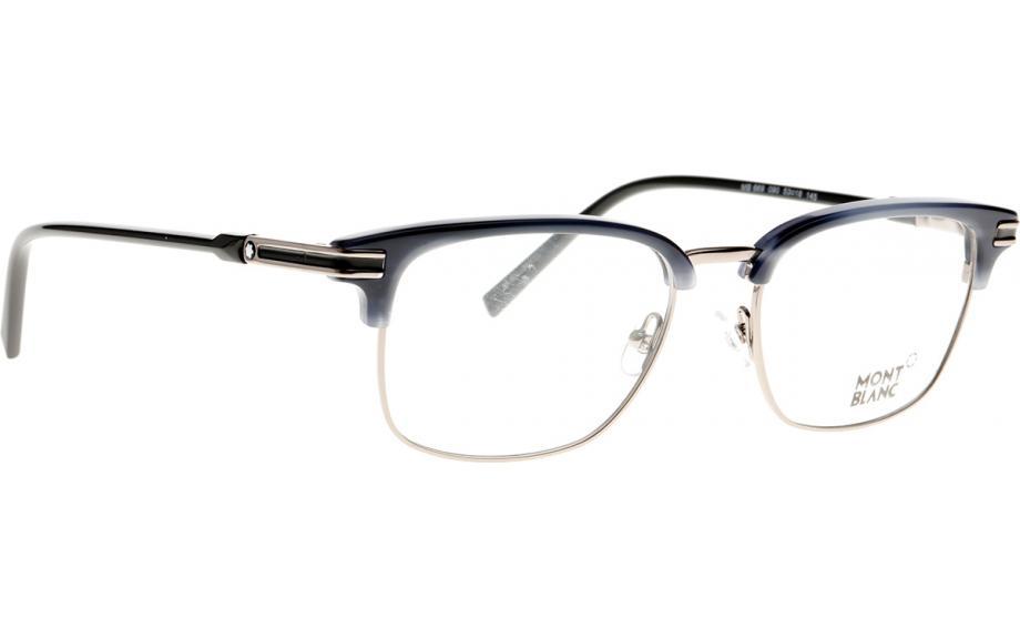 7470e379759d Mont Blanc MB0669 090 53 Glasses - Free Shipping