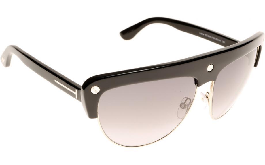 d7470a279cfb0 Tom Ford Liane FT0318S 01B Sunglasses - Free Shipping