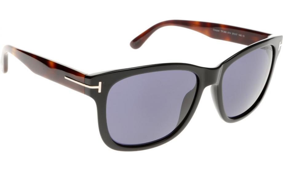 Tom Ford Sonnenbrille FT0395 01V Sonnenbrille Herren a9qEoGDLcn