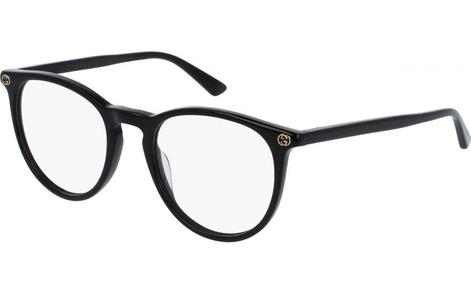 Gucci GG0027OA 001 52 Glasses - Free Shipping | Shade Station